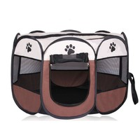 Dog Tent 8 Sided Puppy Pen Portable Foldable