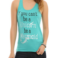 Unicorn Be Mermaid Girls Tank Top