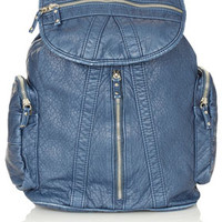 Washed Multi Zip Backpack - Backpacks - Bags & Wallets  - Bags & Accessories