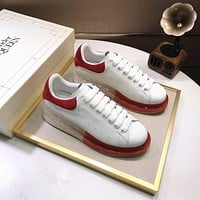 Alexander McQueen  Woman's Men's 2020 New Fashion Casual Shoes Sneaker Sport Running Shoes0412gh