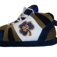 Comfy Feet NCAA Sneaker Boot Slippers - Notre Dame Fighting Irish