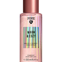 Warm & Cozy Shimmer Body Mist - PINK - Victoria's Secret
