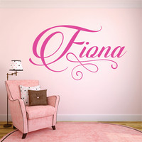 Personalzed Name Wall Decal, Wall Decal, Baby Nursery Decal, Nursery Name Decal, Personalized Decor