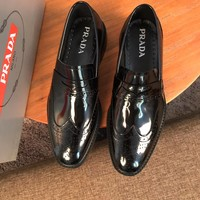 Prada Men's Business Leather Shoes
