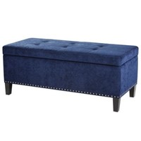 Madison Park Shandra Bench Storage Ottoman