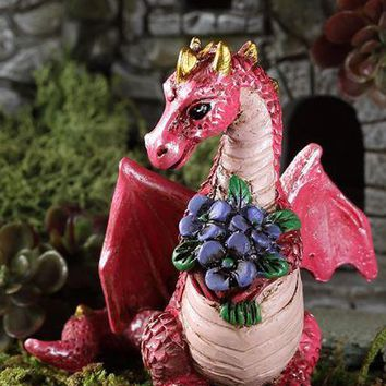 Georgetown Fiddlehead Fairy Garden Flowers Dragon