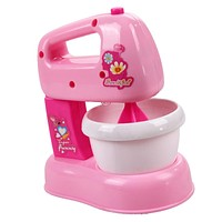 Baby Kitchen Toys Children Pretend Play Toy Educational Pink Electric Blender Mixer Toys for Children Girls Gifts