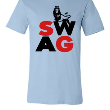 Swag Lion Design  - Unisex T-shirt