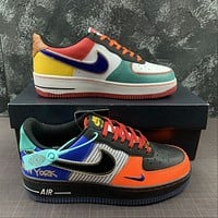 Morechoice Tuhz Nike Air Force 1 07 What The Nyc Low Sneakers Casual Skaet Shoes Ct3610-100