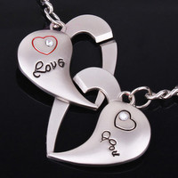 Couple love you Keychain [keychain10] - $2.99 : Fashion jewelry promotion store,Supply all kinds of cheap fashion jewelry
