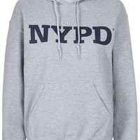 NYPD Hoodie By Tee and Cake - Topshop