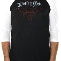 ROCKWORLDEAST - Motley Crue, Baseball Jersey Shirt, Saints Of Los Angeles
