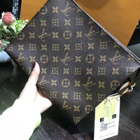 Louis Vuitton LV Monogram Pouch