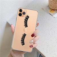 Eyelash Clear Phone Case