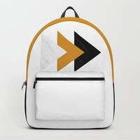 Forward marble yellow arrows by ARTbyJWP
