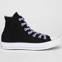 Converse Chuck Taylor All Star Hi Womens Shoes Black/Peppermint  In Sizes