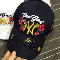 NEW YORK Handcrafts Alphabet Adjustable Hats [11686939727]