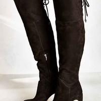 Sam Edelman Kayla Suede Tall Boot - Black