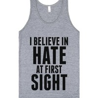 I Believe In Hate At First Sight Tank Top Id7271845-Tank