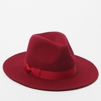 lack of color The Malbec Fedora - Womens Hat - Red