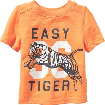 Old Navy Vintage Style Varsity Tees For Baby