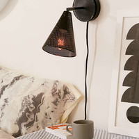 Perforated Cone Sconce - Urban Outfitters