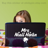>>Mrs Niall Horan<< One Direction Laptop Decal by stickypic