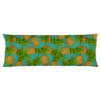 Crazy Pineapples Body Pillow