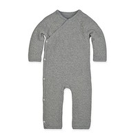 Burt's Bees Baby® Quilted Kimono Coverall in Grey