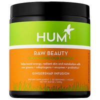 Raw Beauty Skin and Energy Superfood Powder - Gingersnap Infusion - Hum Nutrition | Sephora