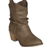 Short Slouch Boot   Shop Shoes at Wet Seal