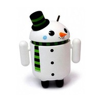 """Android Flakes Snowman 3"""" Inch Mini Collectible Special Edition Figure Andrew Bell Gary Ham"""