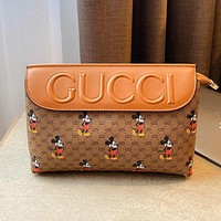 GUCCI x DISNEY Joint Vintage Women's Clutch Crossbody Bag Shoulder Bag