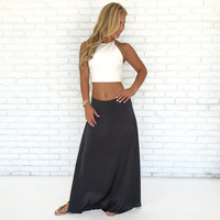 Flow With Me Maxi Skirt