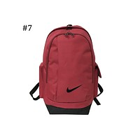 NIKE 2018 new men and women casual sports backpack large capacity backpack F-ZZZS #7