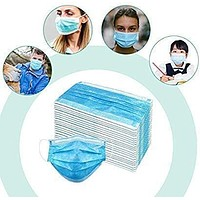 Disposable 3-Ply Face Mask Antiviral Mask with Earloop Polypropylene Masks for Personal Health
