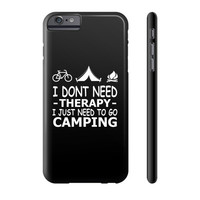 Bicycle camping only Phone Case