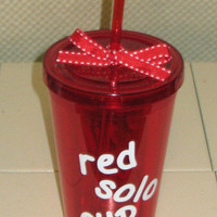 Red Solo Tumbler