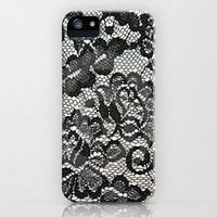 Lace iPhone & iPod Case by PinkBerryPatterns