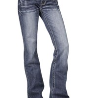 Stetson 818 Classic Boot Cut Jean with Heavy Stitching