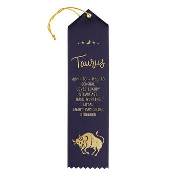 Taurus Birthday Award