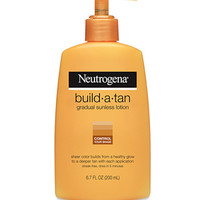 Build-a-Tan Gradual Sunless Lotion | Neutrogena®