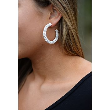 First Class Ivory Earrings