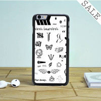 one direction tattoos iPhone 6 Plus iPhone 6 Case