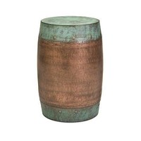 IMAX Durable Rania Copper-Plated Stool