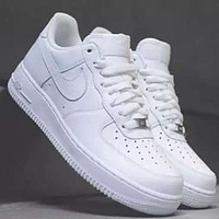 Samplefine2 Nike Air Force 1 AF1 Men's and Women's Fashion Shoes F