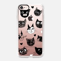 i love cats iPhone 7 Carcasa by Marianna | Casetify