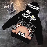 ''MOSCHINO'' Women Hot Hoodie Cute Sweater Discount