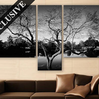 Extra Large Wall Art Nature Fine Art Canvas Wall Decor Modern Wall Hanging Fine Art Print Black and White Wall Art Poster for Room Décor