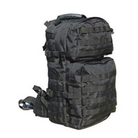 Medium Assault Back Pack - Color: Black